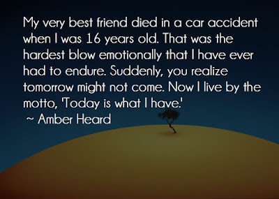 Amber Heard Sad Quote