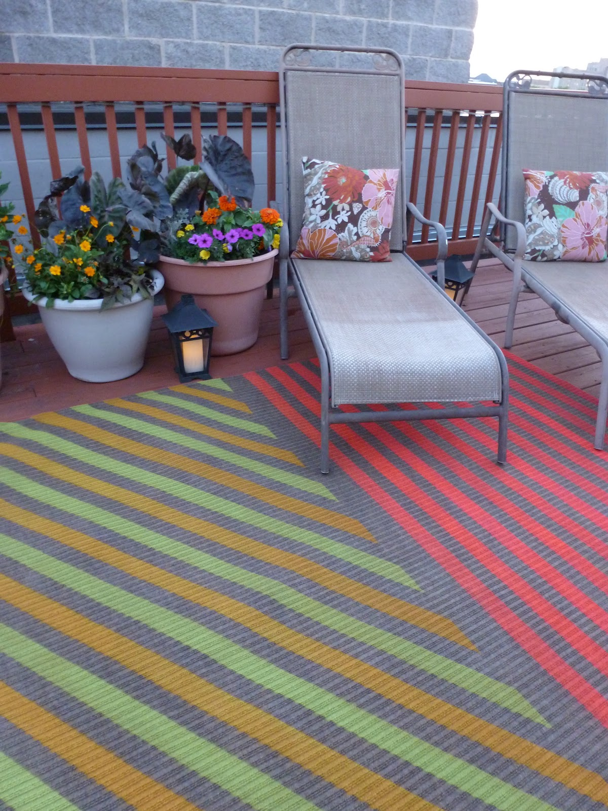 My Insanely Awesome Diy Outdoor Rug!  Design Improvised