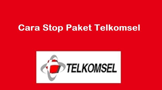 Cara Stop Paket Telkomsel
