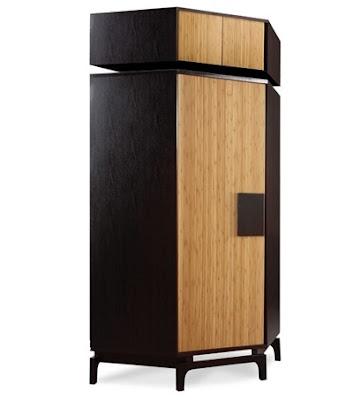 Corner wardrobe Kokeshi for modern bedroom furniture sets