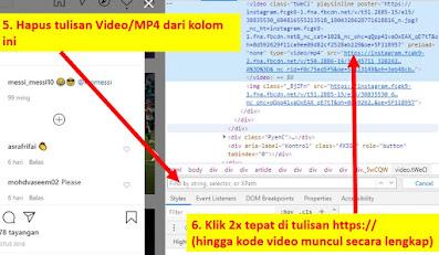 download video ig tanpa aplikasi - step 3