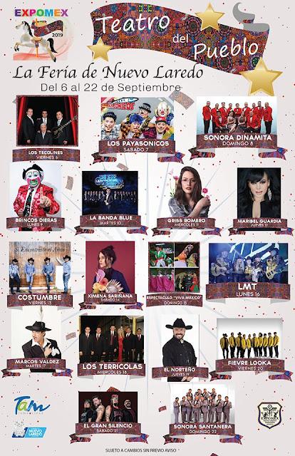 teatro del pueblo Feria expomex 2019