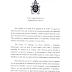 """El Papa Francisco y su carta a la DAIA por los 25 años del atentado a la AMIA: """"No es la religión la que incita y lleva a la guerra"""""""