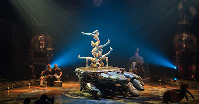 steampunk cirque du soleil kurios show 2016 usa north america tour atlanta boston new york washington dc east coast