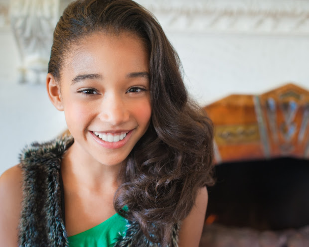 Is Amandla Stenberg Mixed
