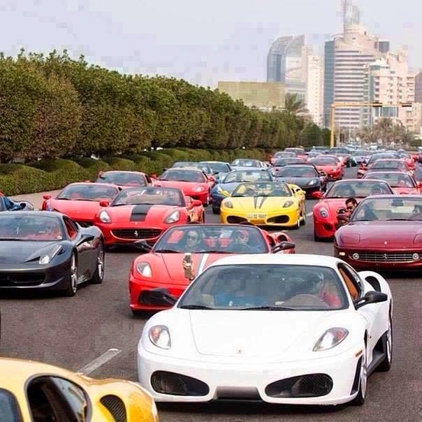 dubaide trafik