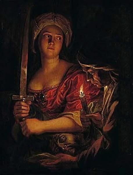 Judith and Holofernes by Antoine Coypel, Macabre Paintings, Horror Paintings, Freak Art, Freak Paintings, Horror Picture, Terror Pictures