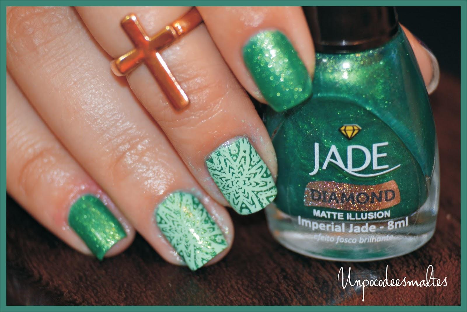 Un poco de esmaltes: Probando Apipila + Jade