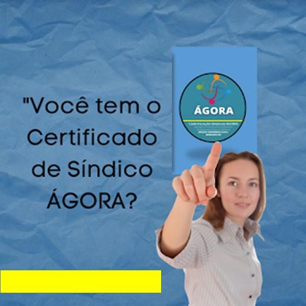 Inscrição para a PROVA DO SÍNDICO ÁGORA