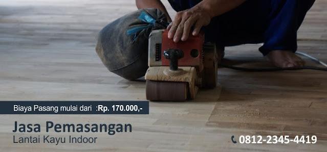 Jasa pemasangan Lantai kayu