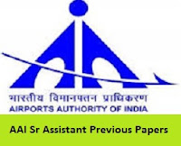 AAI Sr Assistant Previous Papers