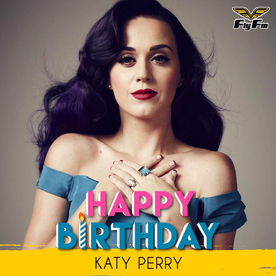 Katy Perry's Birthday Wishes Unique Image