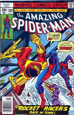 Amazing Spider-Man #182, the Rocket Racer
