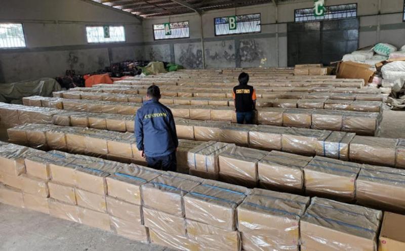 Potensi Kerugian Negara Rp 7,6 Miliar, Patroli Laut BC Gagalkan Penyelundupan Rokok Ilegal di Perairan Riau