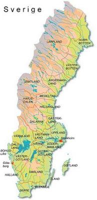 karta över sverige Karta över Sverige Geografisk Bild   Karta över Sverige  karta över sverige