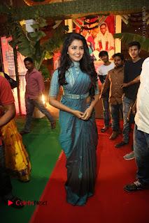 Actress Anupama Parameswaran Stills in Stylish Saree at Shatamanam Bhavathi Audio Launch  0080.JPG