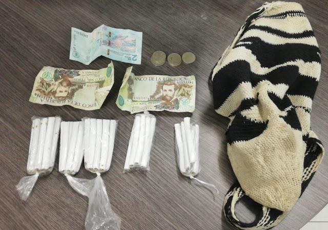 En Maicao sorprenden a menor de edad traficando marihuana