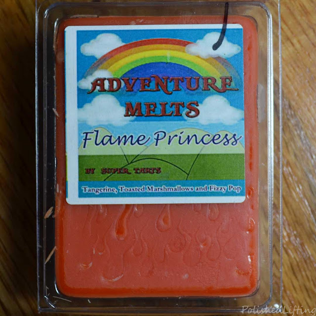 tangerine toasted marshmallow fizzy pop wax melt