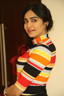 Adha Sharma in a Cute Colorful Jumpsuit Styled By Manasi Aggarwal Promoting movie Commando 2 (112).JPG