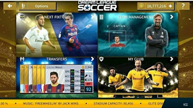 Fitur Dream League Soccer (DLS)