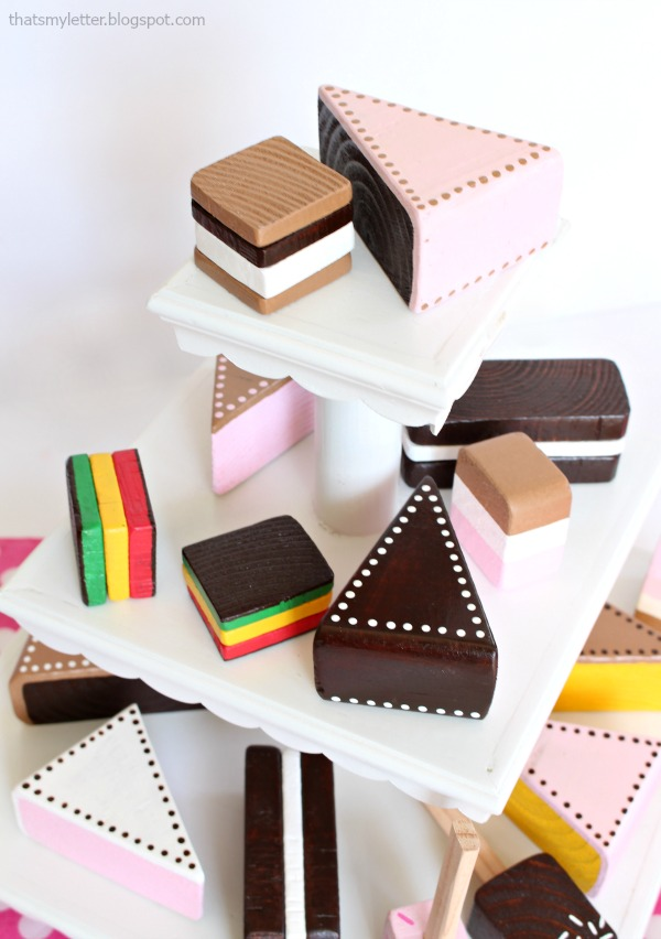 diy wood play desserts