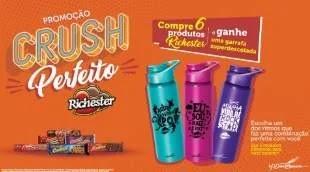 Promoção Biscoitos Richester 2019 Compre Ganhe Garrafa - 3 Modelos Diferentes