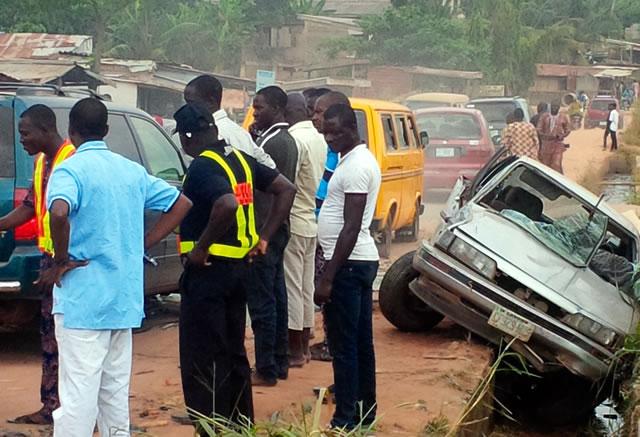 truck crushes pastor ogun state