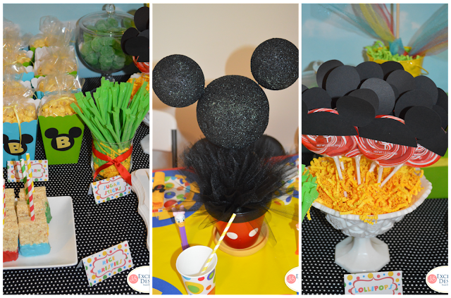 Festa do Mickey Mouse para gêmeas