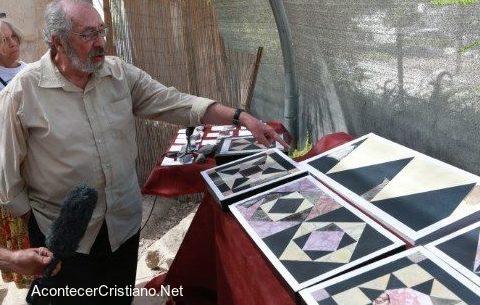 Pisos azulejos del Segundo Templo de Jerusalén