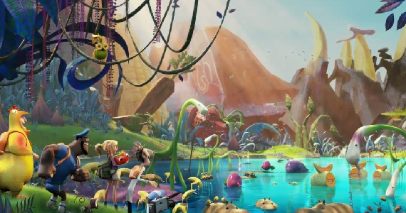 Fakta, Kumpulan Foto dan Video cloudy with a chance of meatballs 1 dan 2