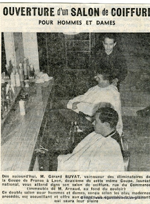 Vieux papiers,  coiffure Buvat Riom