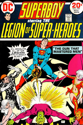 Superboy and the Legion of Super-Heroes #199, Superboy turns against the legion