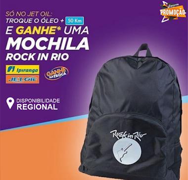 Participe da Promoção e Ganhe uma Mochila Rock In Rio