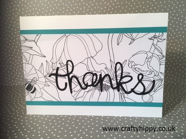 Inside the Lines Card, Stampin' Up!
