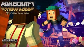 Game Petualangan di Android Minecraft Story Mode 2016