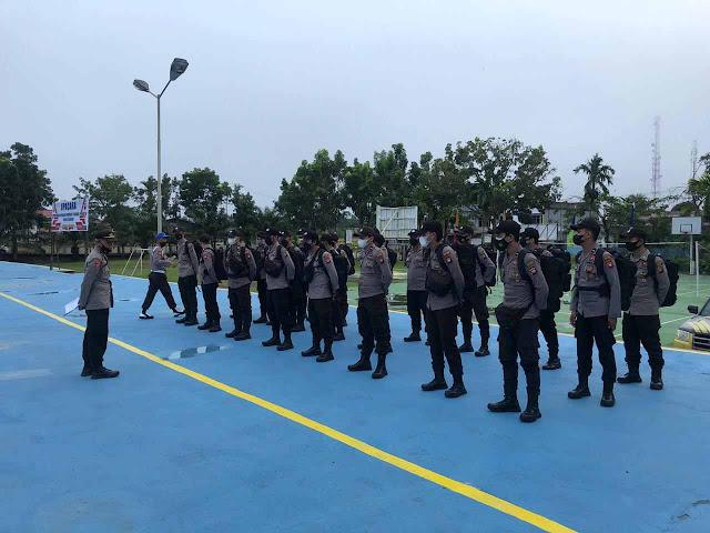 Polres Sekadau Terjunkan 30 Personel, Amankan Pilkades di Sintang