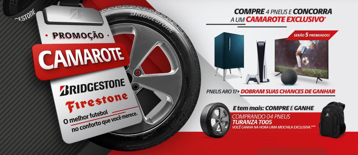 Camarote Bridgestone Firestone Promoção