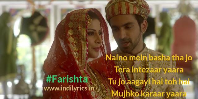 Farishta | Arjit Taneja & Karishma Kotak | Pics | Arko & Asees Kaur | Quotes | Images