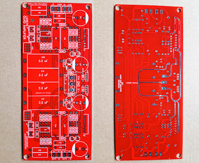 PCB Review from JLCPCB LM1876 gerber files