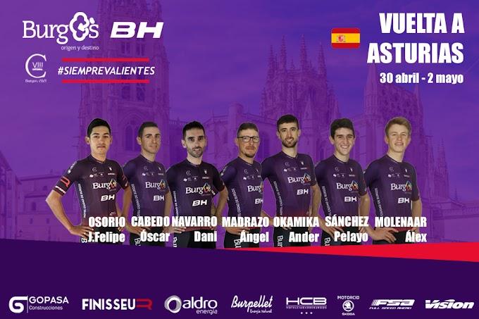 El Burgos BH acude a la Vuelta a Asturias con un bloque fuerte y competitivo
