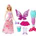 Barbie Dreamtopia - Princesa sereia e fada - Mattel
