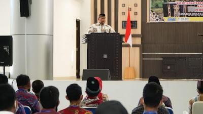 Hadiri Musda PPDI, Bupati Sukiman Sentil Peran Kades Sebagai Pemimpin