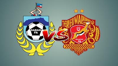 Live Streaming Sabah vs Kelantan Liga Premier 13.7.2019