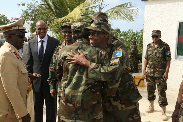 Somalia celebrates its military's 57 years of service.