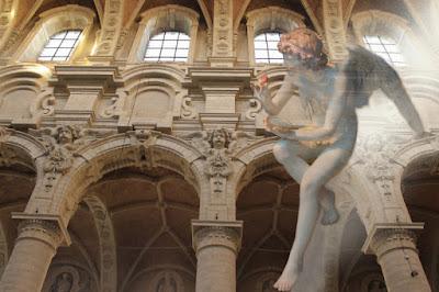 ange, angelot, église du béguinage, Bruxelles,