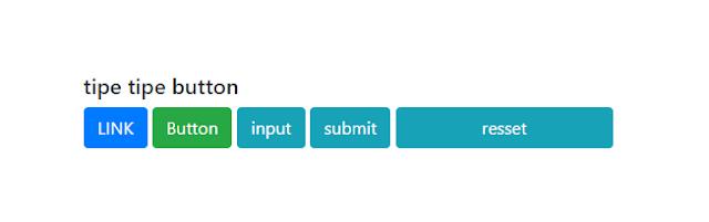 Hasil dari script class tipe-tipe button
