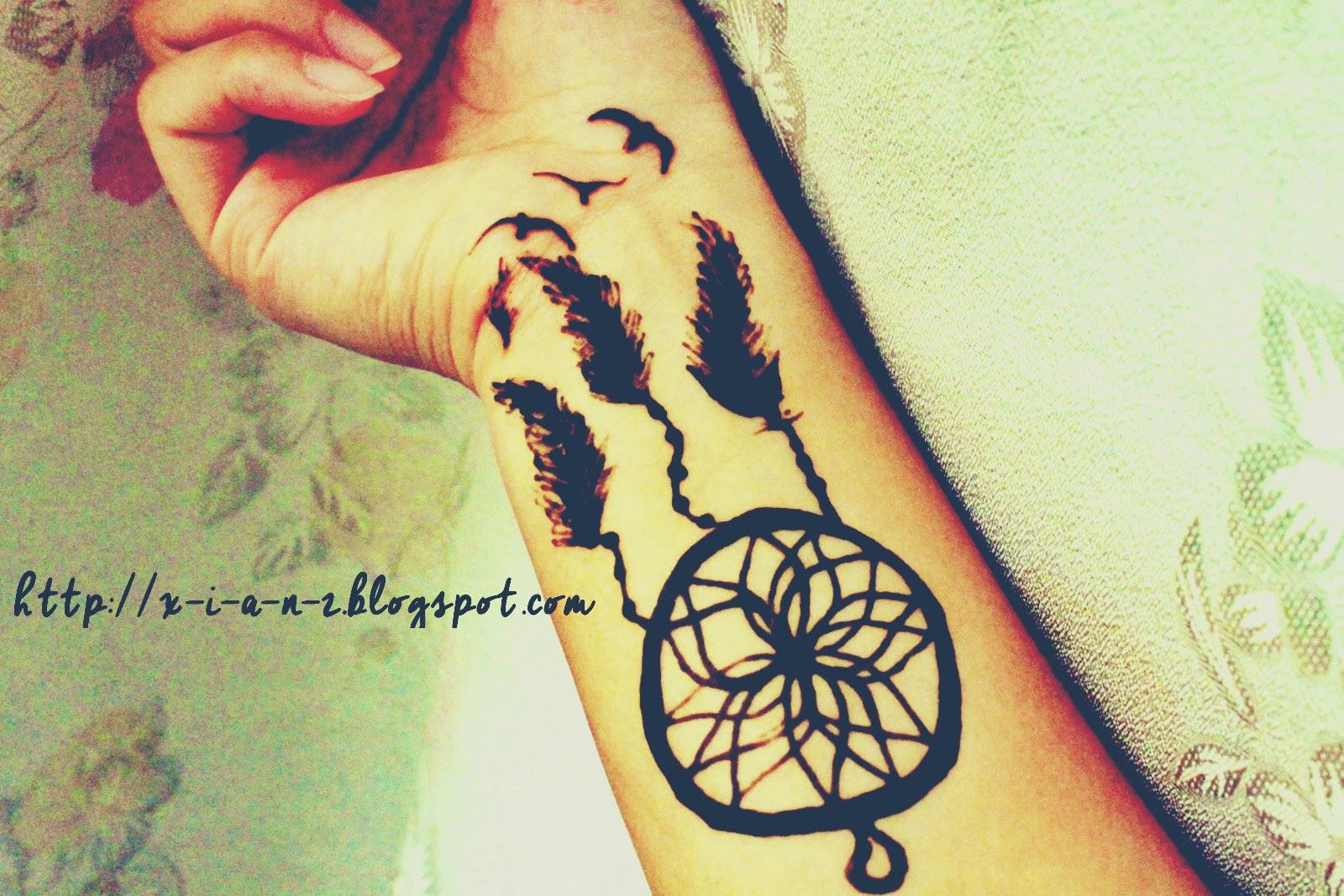 Gambar Terbaru Henna Dreamcatcher Paling Dicari  Teknik