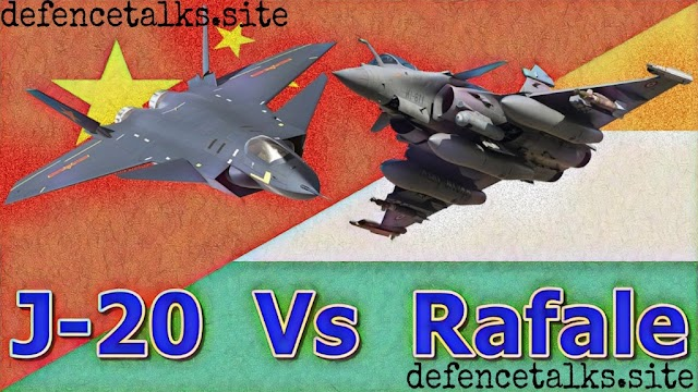 Chinese Chengdu J-20 vs India's French made Rafale