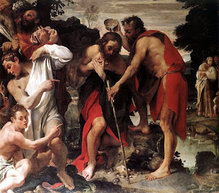 Annibale's Baptism of Christ