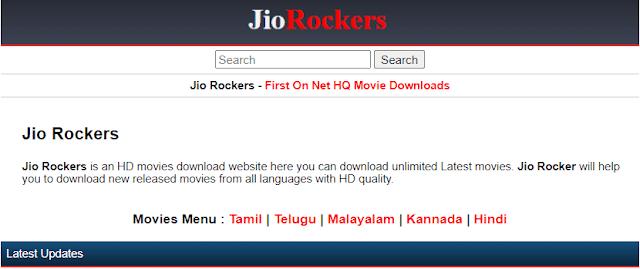 Jio Rockers Telugu Movies Download 2021